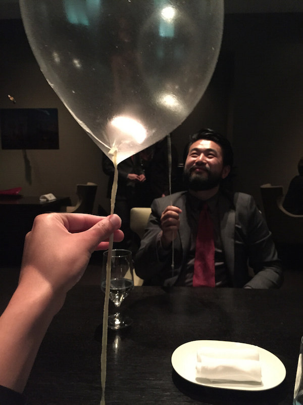 Dinner at alinea my review living life crazy - Table up and down alinea ...