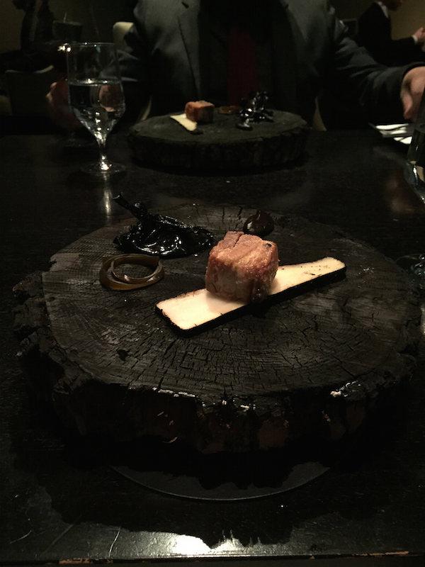 Pork Belly at Alinea