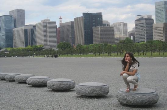 Downtown Tokyo Stone Garden