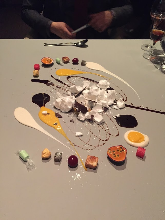 Dessert at Alinea