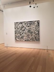 Jackson Pollock Greyed Rainbow
