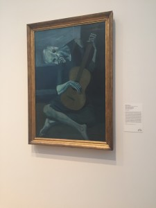 Pablo Picasso Blue Guitar
