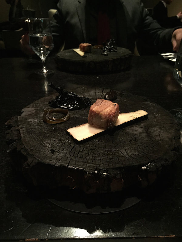 Pork Belly at Alinea