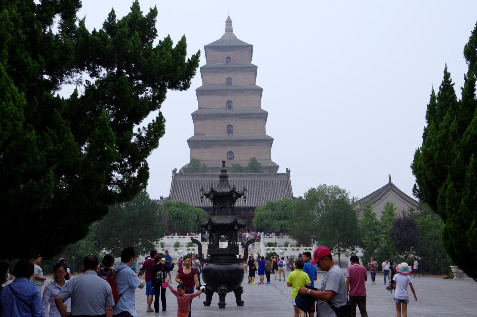 Giant-Wild-Goose-Pagoda