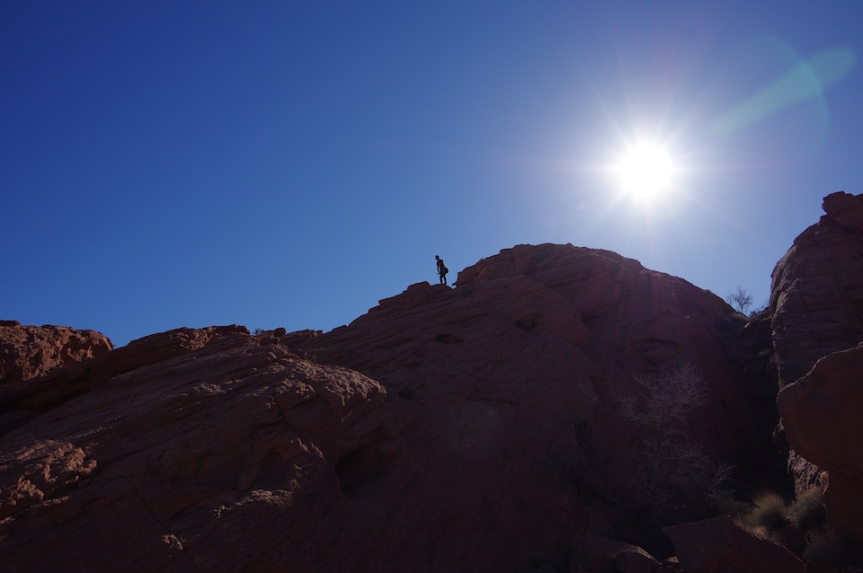 valley-of-fire-rock-climbing